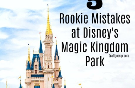 5 Rookie Mistakes at Disney's Magic Kingdom Park