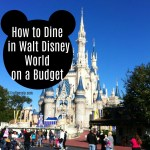 How to Dine in Walt Disney World When on a Budget