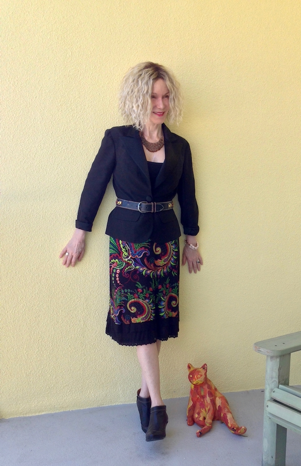 desigual skirt mix