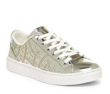 These adorable sneaks have the GUESS label on top, but I don't mind.