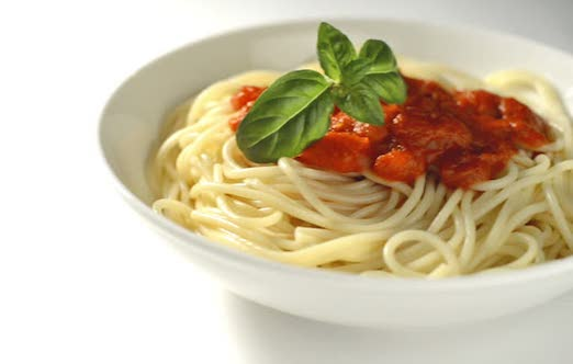 grandma spaghetti