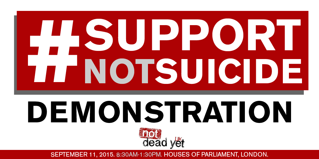 #SupportNotSuicide Demonstration – 11 September