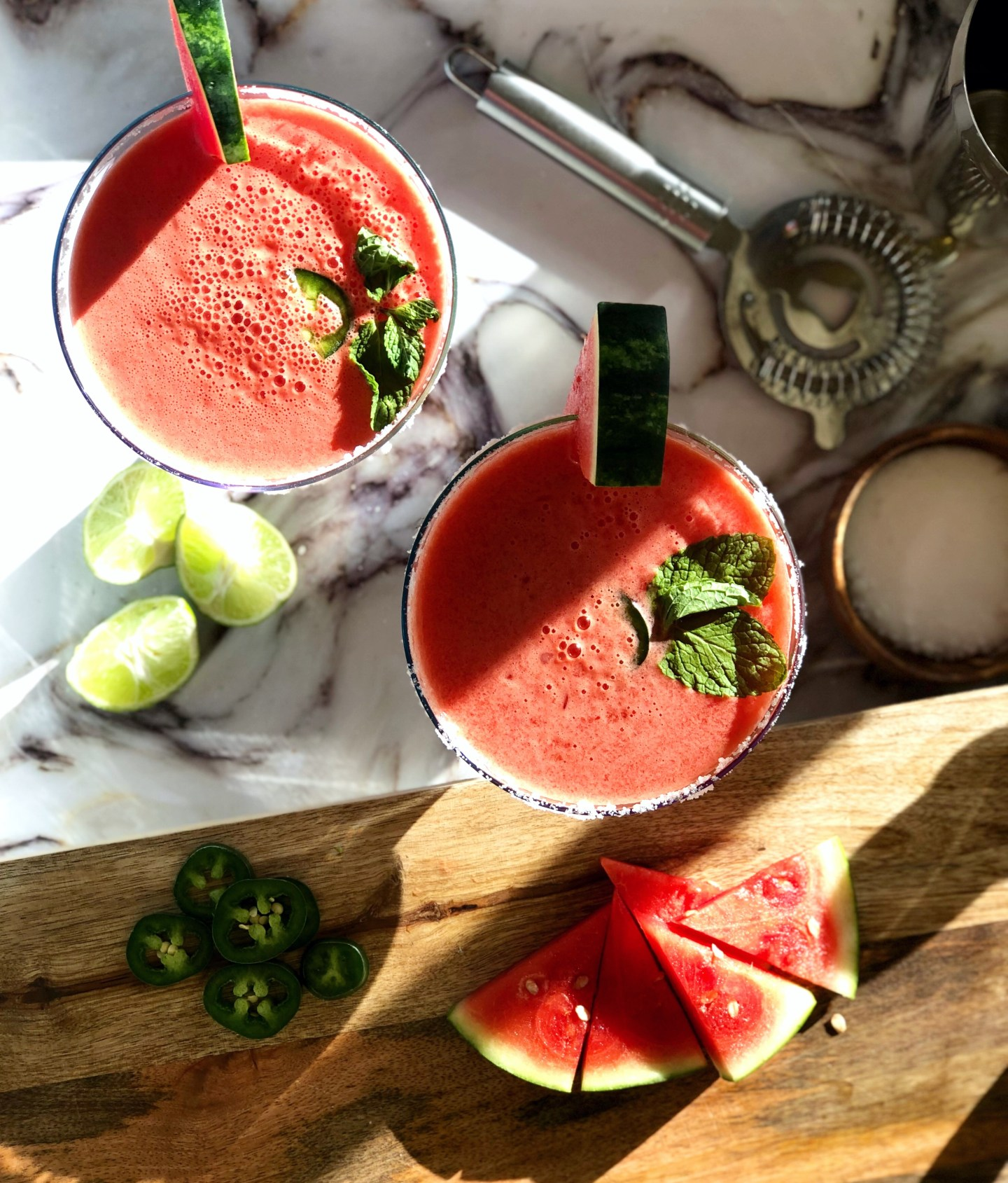 | Spicy Watermelon Margarita |