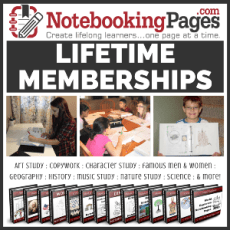 shop Notebooking Pages LIFETIME Membership curriculum and supplies