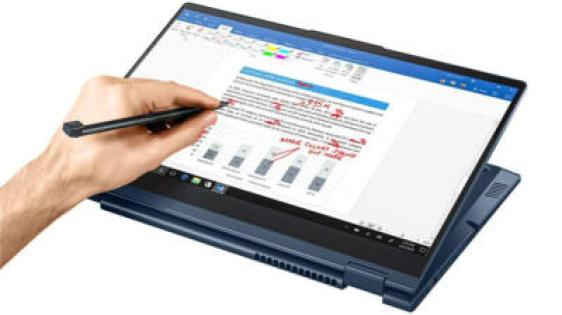 Touch Screen Laptop with Pen - Lenovo ThinkBook 14s Yoga 20WE001CUS