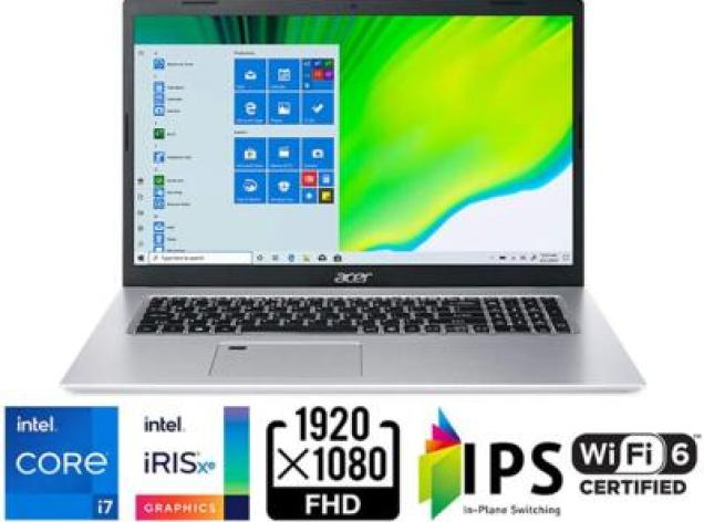 17 inch laptop -  Acer Aspire 5 A517-52-713G