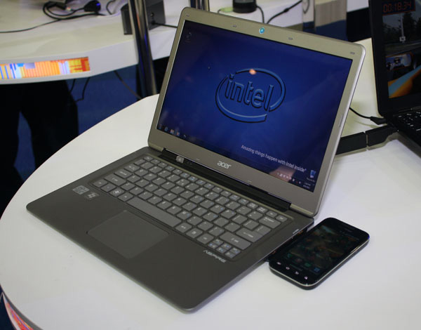 Ultrabook Wireless charging
