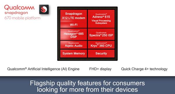 Qualcomm Snapdragon 670: AI e performance per la fascia media - Notebook Italia