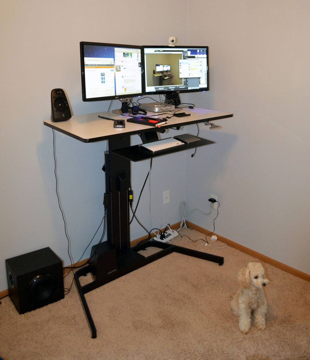 Ergotron WorkFitD Review Nearly Perfect SitStand Desk