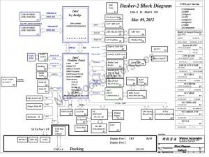 Lenovo ThinkPad X230 schematic – LDB-2 – Dasher-2