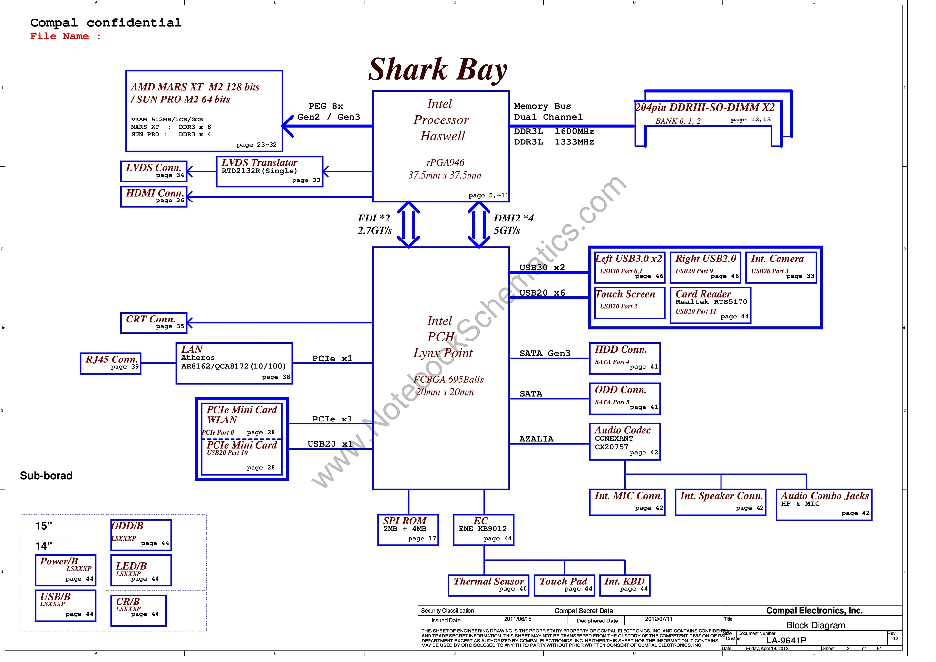 hight resolution of la 9641p schematic