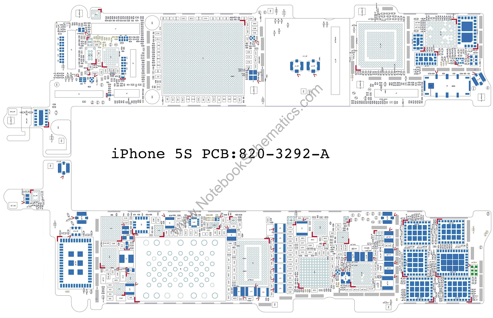 iphone schematic and wiring diagram rat respiratory system 5s 820 3292 a notebookschematics