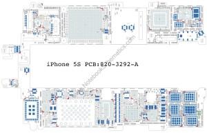 Iphone 5S 8203292A Schematic | NotebookSchematics