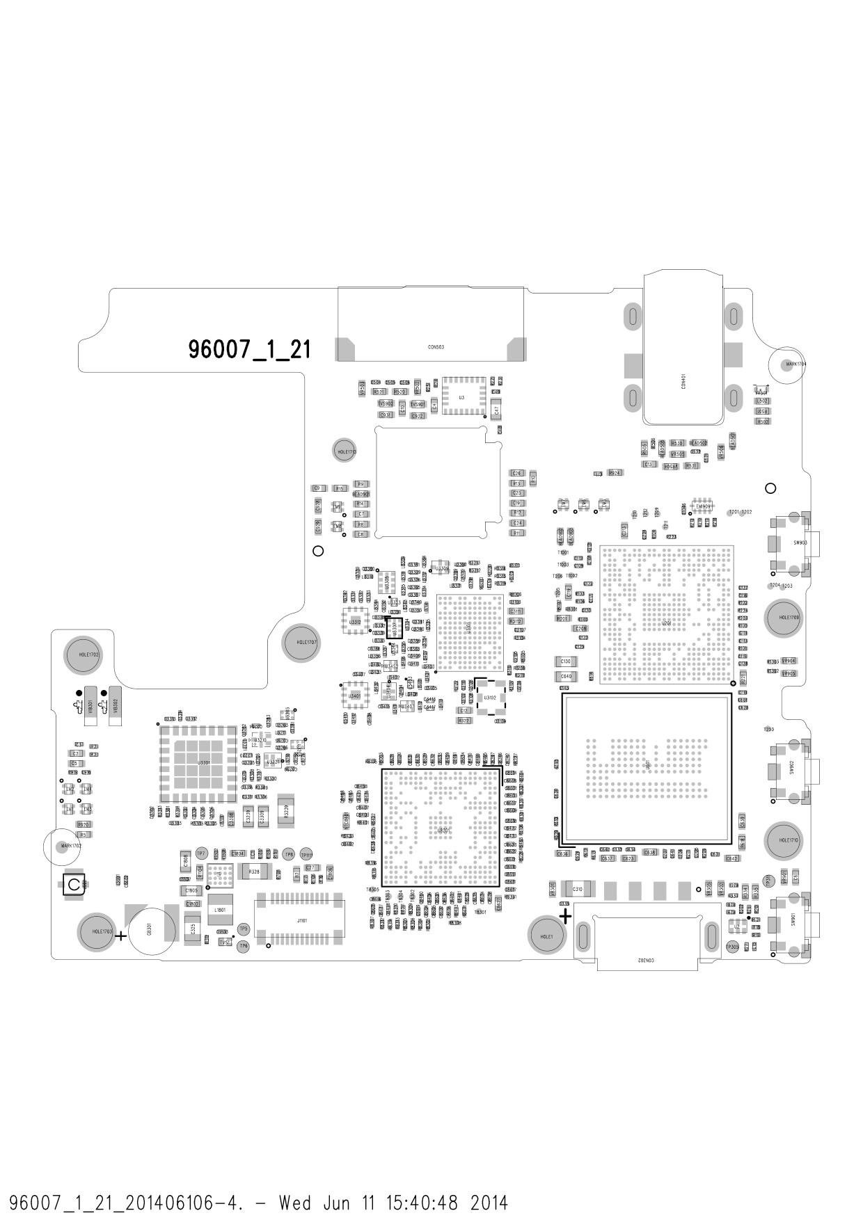 Xiaomi 1S 4G Service Manuals with Schematics and PCB