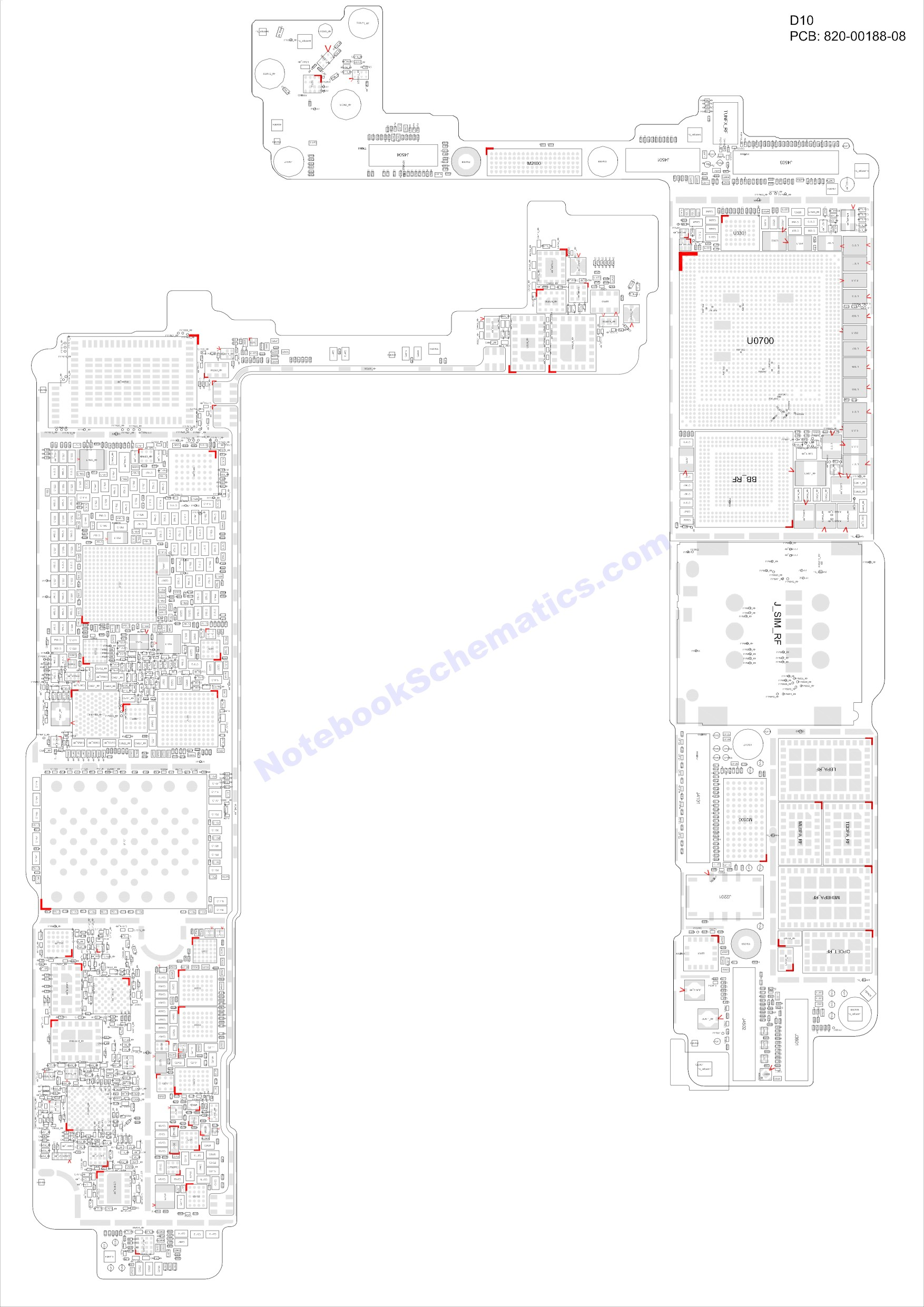 iPhone 7 820-00188 Schematic & PCB Layout