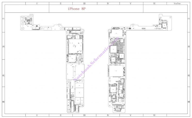 Iphone 8 Plus Pcb Diagram : All iPhone, iPad Schematic