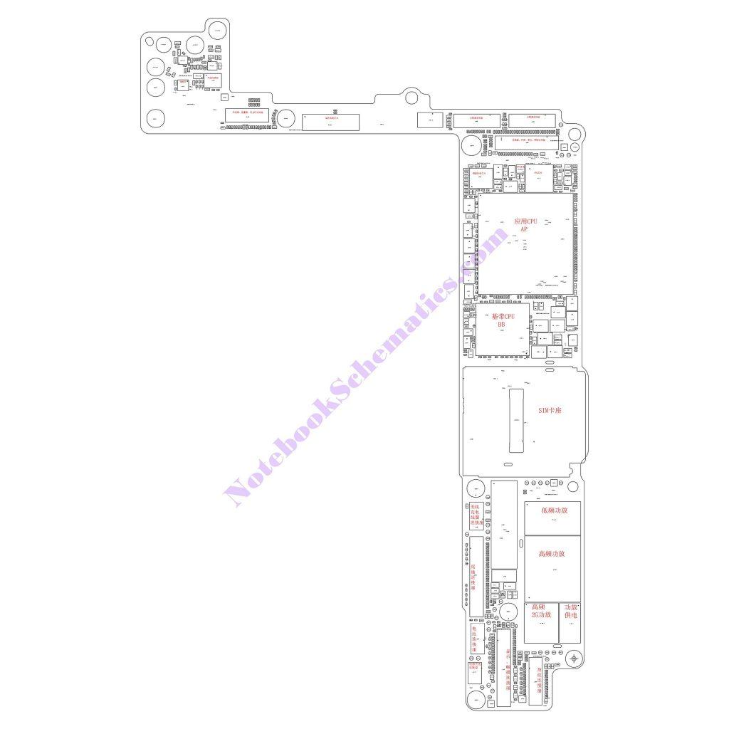 iPhone 8 PLUS Schematic & PCB Layout (Qualcomm Version