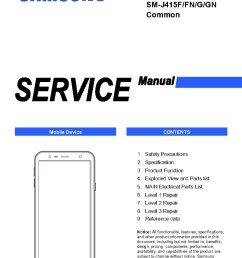 samsung galaxy j4 plus service manual sm j415f service manual [ 794 x 1123 Pixel ]