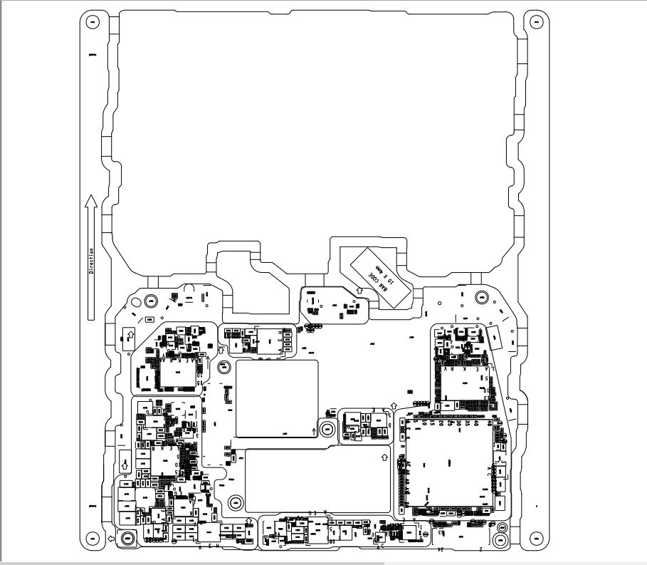 Huawei Mate 20 PRO Schematic & PCB Layout
