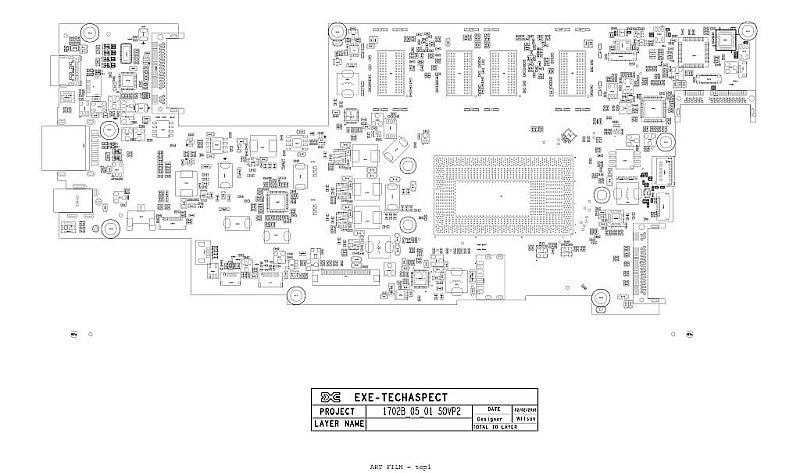 Lenovo Idepad Miix520-12IKB Schematic & PCB Layout