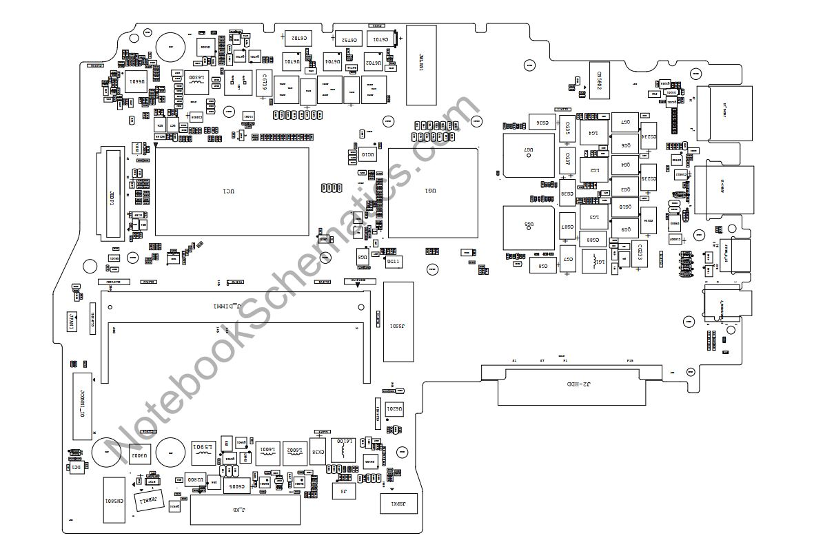 Lenovo Ideapad 330s-15IKB Schematic & PCB Layout