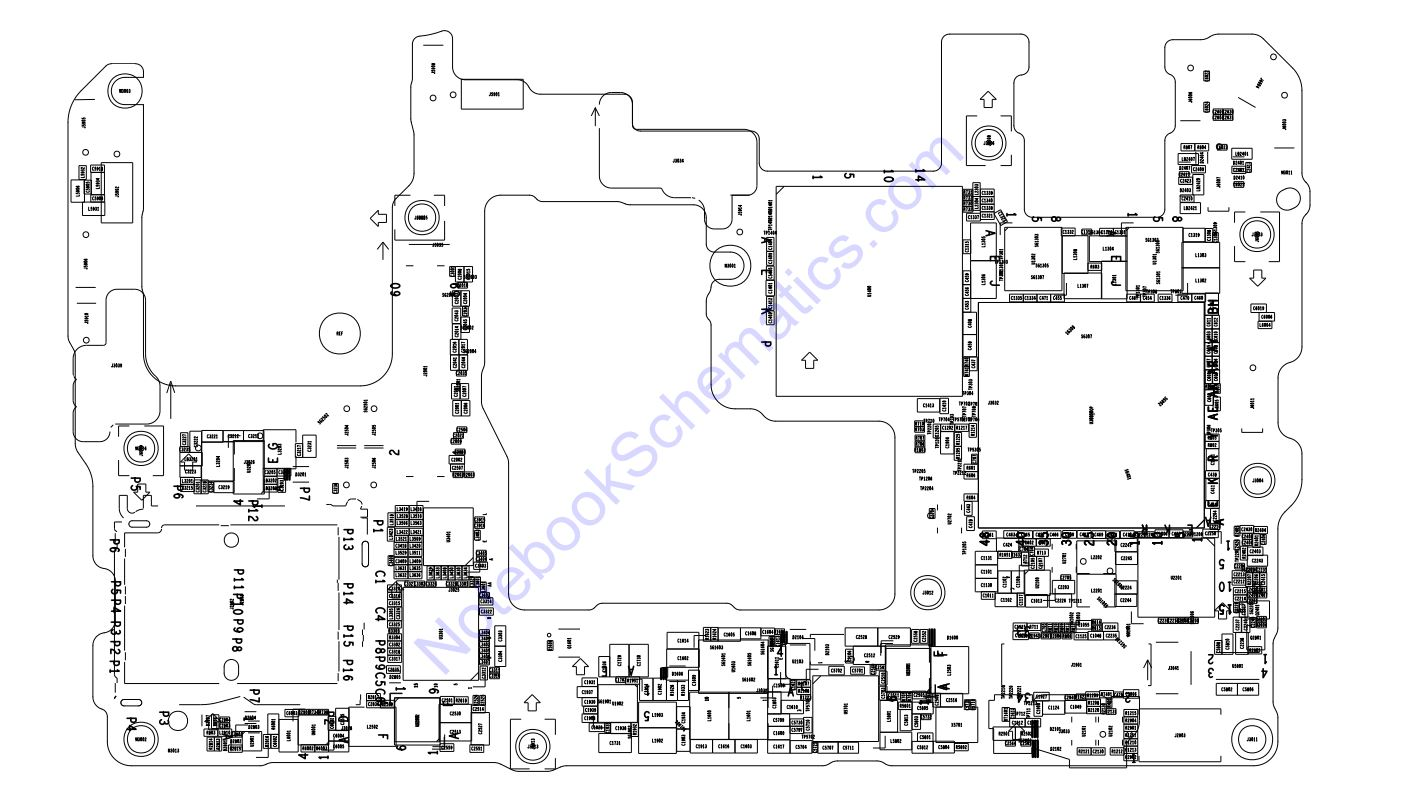 Huawei Mate 20X Schematic & PCB Layout
