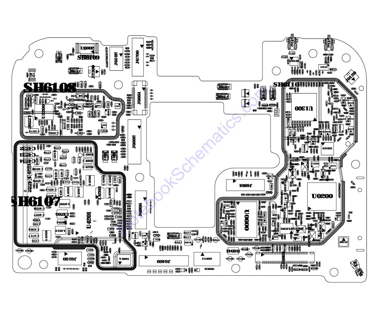 Redmi Note 8 Pro Schematic & PCB Layout