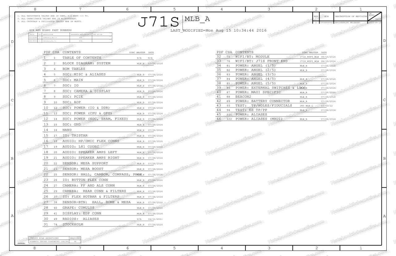 iPad 5th Gen Schematic
