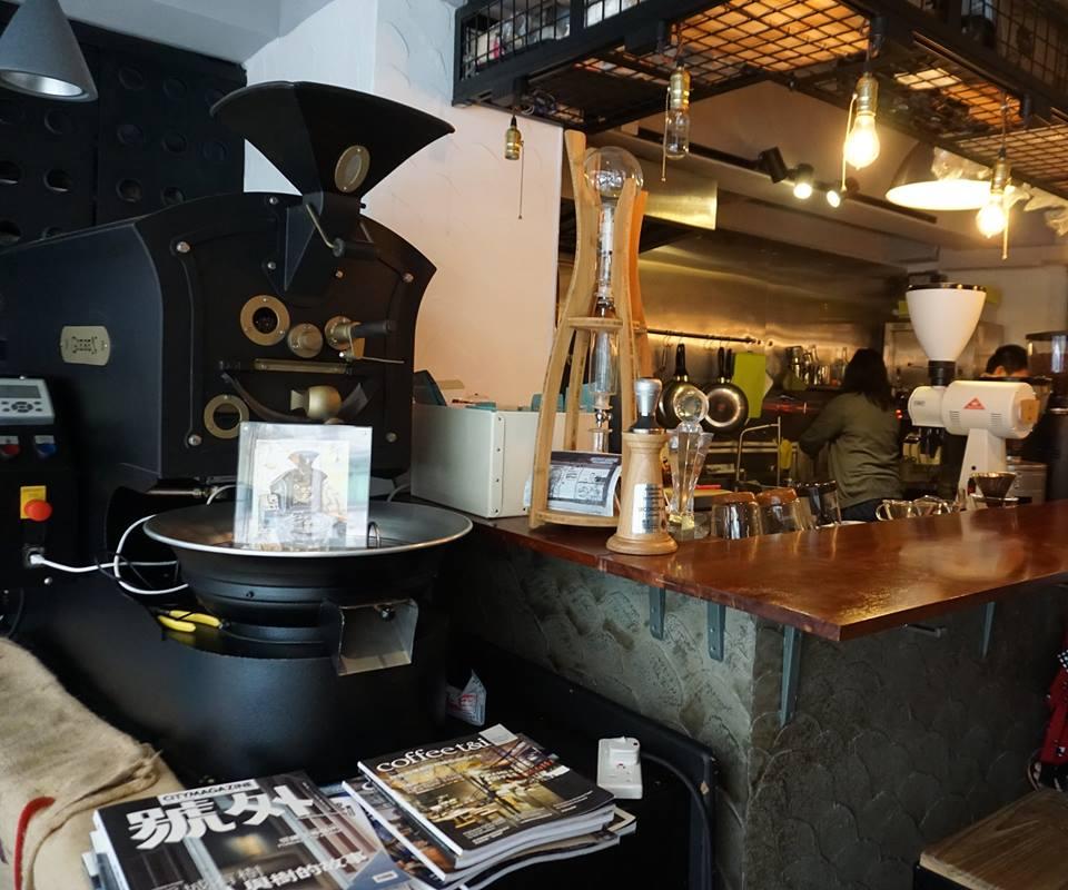 韻的香港咖啡廳隨筆 | 韻手烘咖啡 NOTE Coffee Roasting