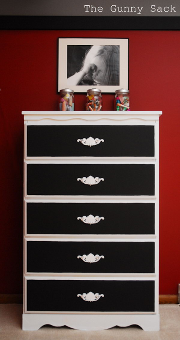 inexpensive kitchen cabinet makeovers kid set 20 budget friendly diy chalk paint furniture ideas - noted ...