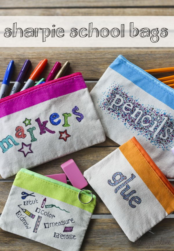 30 Awesome DIY Back To School Supplies  Noted List