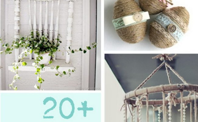 20 Diy Shabby Chic Decor Ideas For Your Home Noted List