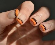 fashionable french nail art