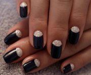 stunning moon nail art