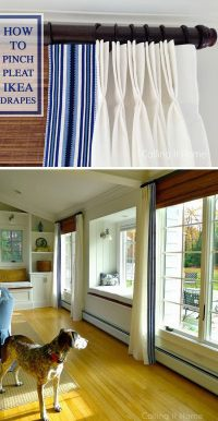 IKEA Hacks Tutorials & Ideas for Your Window Treatments ...