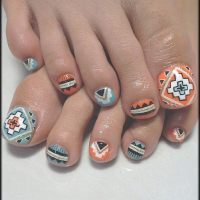 60 Cute & Pretty Toe Nail Art Designs - Noted List