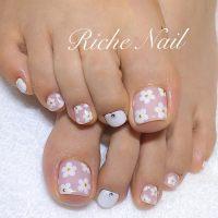 60 Cute & Pretty Toe Nail Art Designs - Noted List