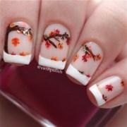 fall nail art design - noted list