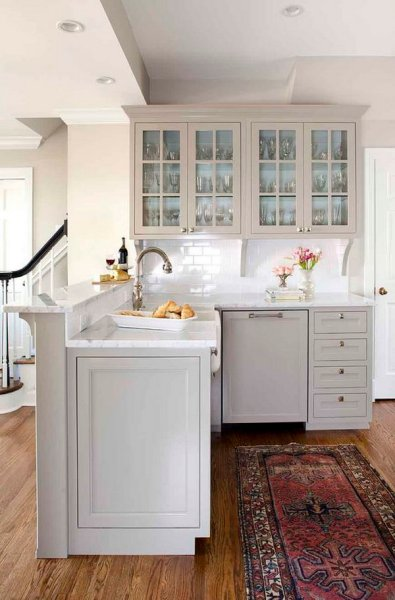 best color for gray kitchen cabinets 80+ Cool Kitchen Cabinet Paint Color Ideas - Noted List