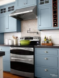 80+ Cool Kitchen Cabinet Paint Color Ideas - Noted List