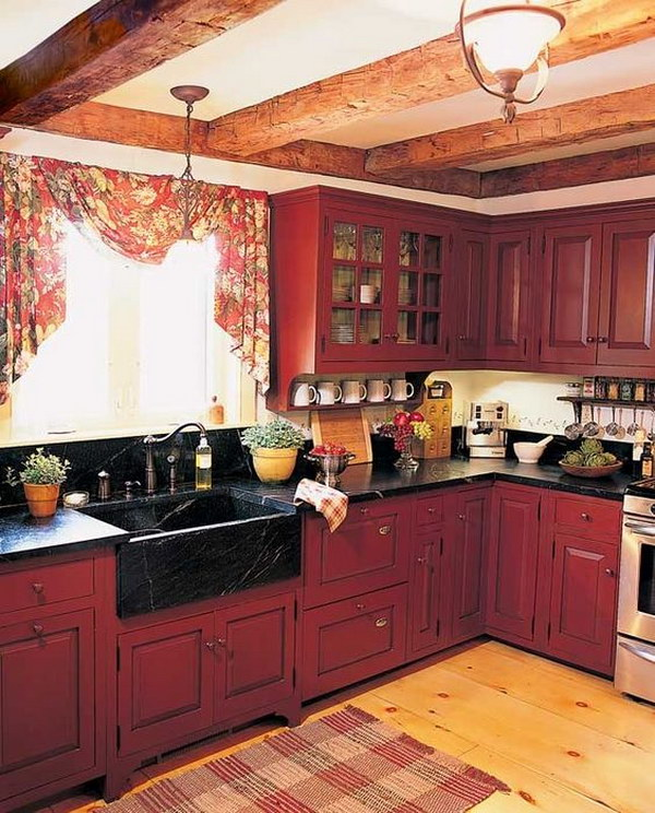 80 Cool Kitchen Cabinet Paint Color Ideas  Noted List
