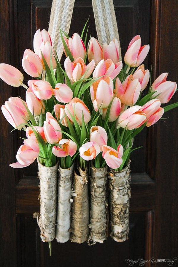 Beautiful Spring And Easter Wreath Ideas With Lots Of