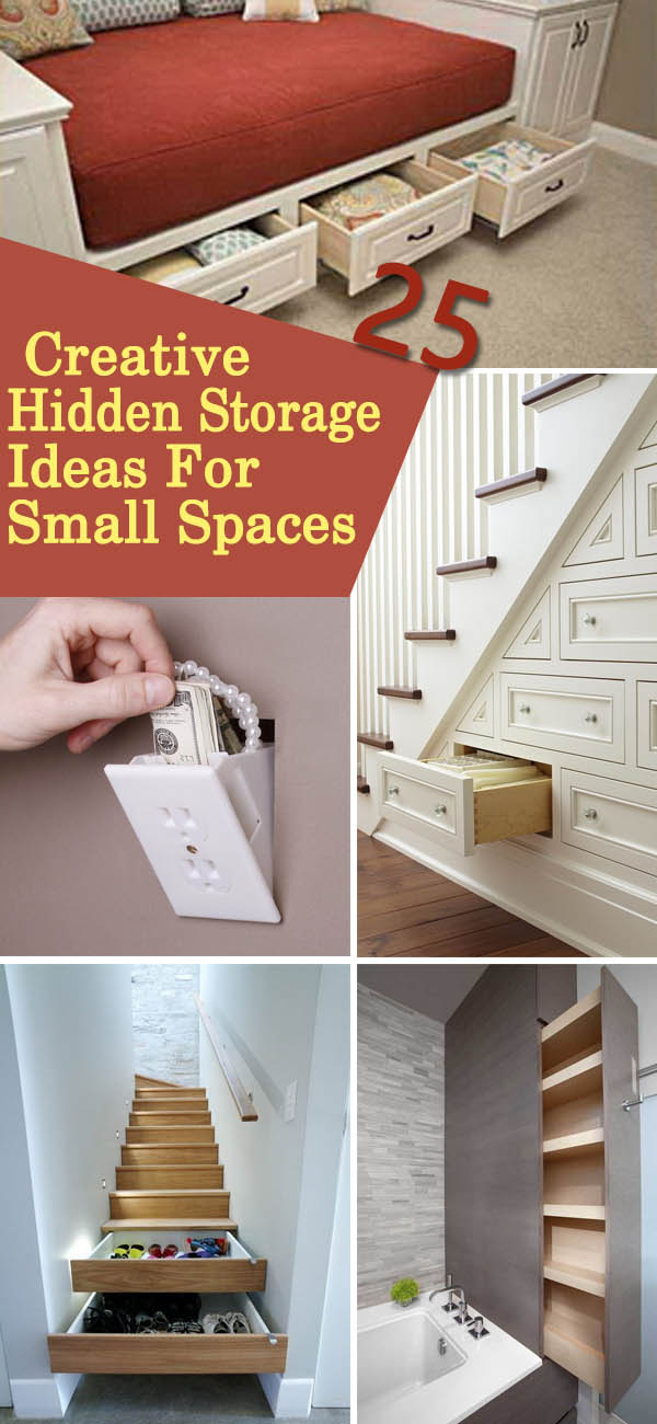 25 Creative Hidden Storage Ideas For Small Spaces Noted List
