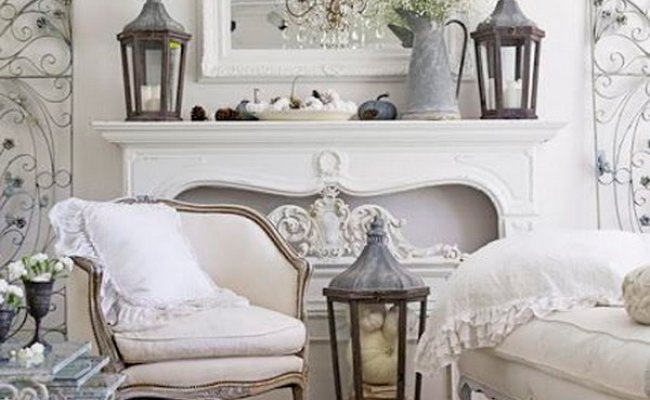 Romantic Shabby Chic Living Room Ideas Noted List