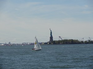Estatua Libertad desde Battery park