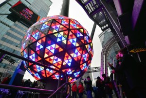 Bola times square nueva york