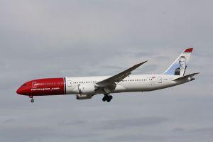 Avión 787-9 de Norwegian