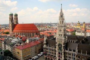 Vista panorámica de Munich