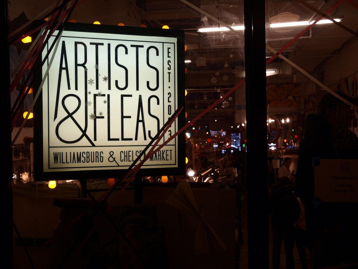 Artist and Fleas Market