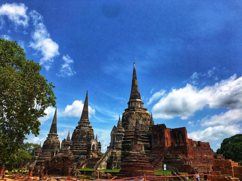 Ayutthaya Wat Phra Sri